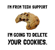 Tech Support Cookies Photographic Print