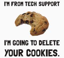 Tech Support Cookies Kids Tee