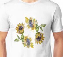 Sunflower Circle Unisex T-Shirt
