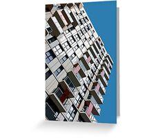 High rise city living Greeting Card