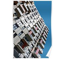 High rise city living Poster