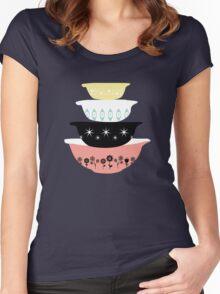 Pyrex Pretties Women's Fitted Scoop T-Shirt