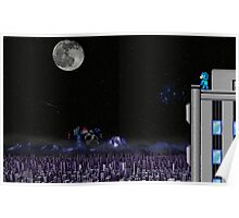 The Blue Bomber's City - Mega Man 2 Poster