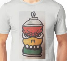 Rasta street tagger Unisex T-Shirt