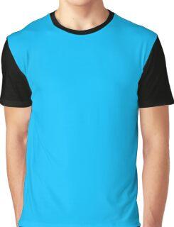 Sky Blue Graphic T-Shirt