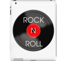 Rock and Roll Record iPad Case/Skin