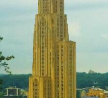 Cathedral of Learning Pitt Sticker