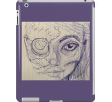Cyber girl, a mixup iPad Case/Skin