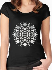 Moon Meditations Women's Fitted Scoop T-Shirt