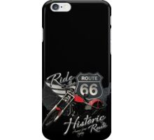 Travel - Motorcycle Ride the historic route 66 iPhone Case/Skin