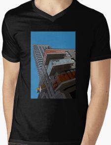 Living the high life! Mens V-Neck T-Shirt