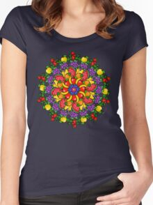 Fruit Heals Women's Fitted Scoop T-Shirt