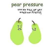 Pear pressure Photographic Print