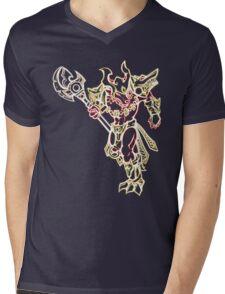 Inferno Nasus Mens V-Neck T-Shirt