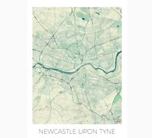 Newcastle upon Tyne Blue Vintage Unisex T-Shirt