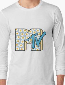 MTV Logo (Fried Eggs) Long Sleeve T-Shirt