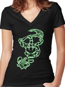 Thresh - Grab The Latern Women's Fitted V-Neck T-Shirt