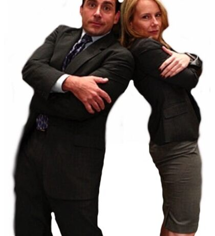 The Office- Michael Scott and Holly Flax Sticker