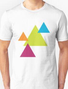 Vector Triangles  Unisex T-Shirt