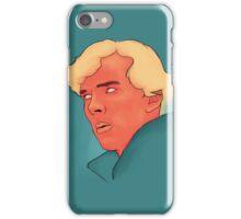 Benedict Cumberbatch Portrait Painting iPhone Case/Skin
