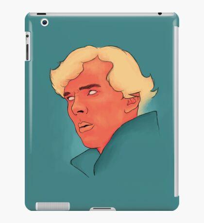 Benedict Cumberbatch Portrait Painting iPad Case/Skin