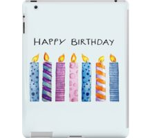 Birthday Candles iPad Case/Skin