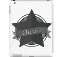 Vintage star with ribbon iPad Case/Skin