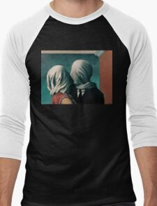 The Lovers, Les Amants - Magritte Men's Baseball ¾ T-Shirt