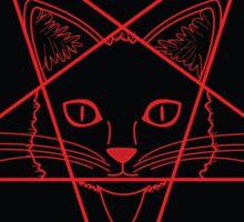 Hail Kitten Sticker Sticker