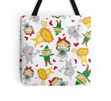 Dorothy & Friends - Pattern Tote Bag