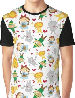 Dorothy & Friends - Pattern Graphic T-Shirt