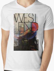 London - West End Mens V-Neck T-Shirt