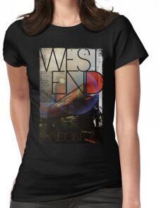 London - West End Womens Fitted T-Shirt