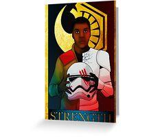 Strength Tarot Greeting Card
