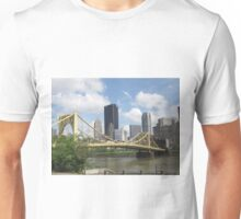 Pittsburgh Skyline and River Unisex T-Shirt