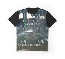 Dad of Girls Graphic T-Shirt