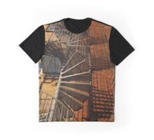 Winding Stairs Graphic T-Shirt