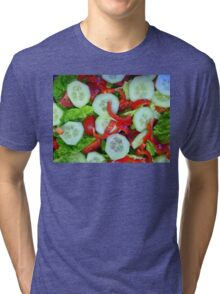 Healthy Food Tri-blend T-Shirt