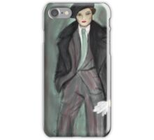 Impressionist Marlene iPhone Case/Skin