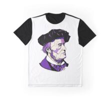Richard Wagner Composer Graphic T-Shirt
