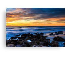 Beach Sunset Florida Canvas Print