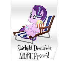 Starlight Glimmer - Popcorn Poster