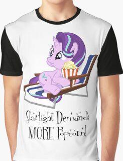 Starlight Glimmer - Popcorn Graphic T-Shirt