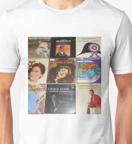 Vintage Records Collection 1G Unisex T-Shirt