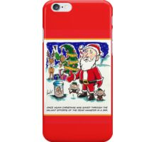 Dead Hamster Christmas Card iPhone Case/Skin