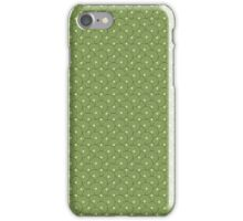 Psych Circles in Green! iPhone Case/Skin