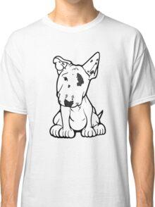 English Bull Terrier Black Eye Patch  Classic T-Shirt