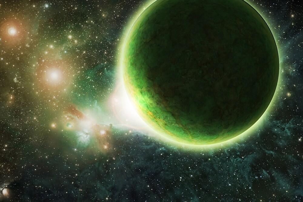 Green Dawn by weeyak