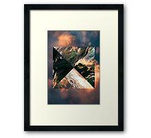 Ocean & Sky Framed Print