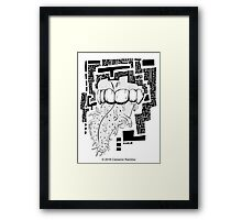 Chant The Sacred Words Framed Print